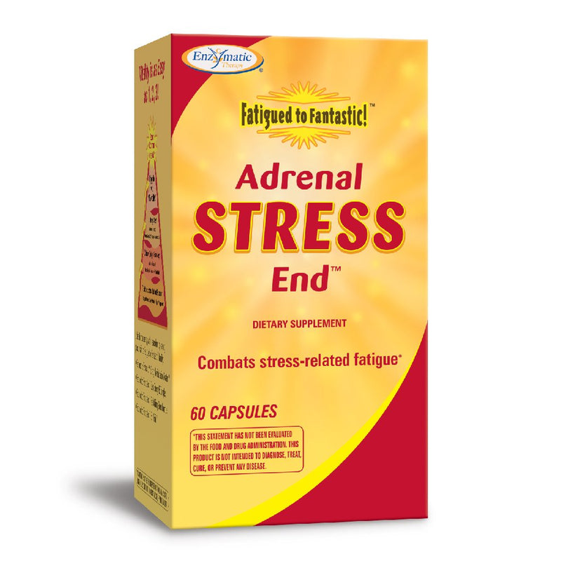 Enzymatic Fatigued to Fantastic Adrenal Stress-End 60 Caps