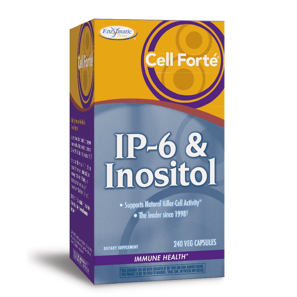 Enzymatic Cell Forte IP-6 & Inositol 240 Vcaps