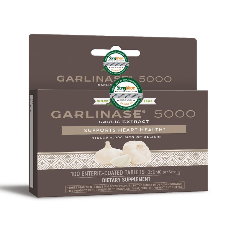 Nature's Way Garlinase 5000 100 Tabs
