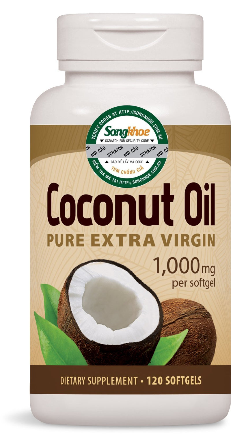 Nature's Way Coconut Oil 120 softgels
