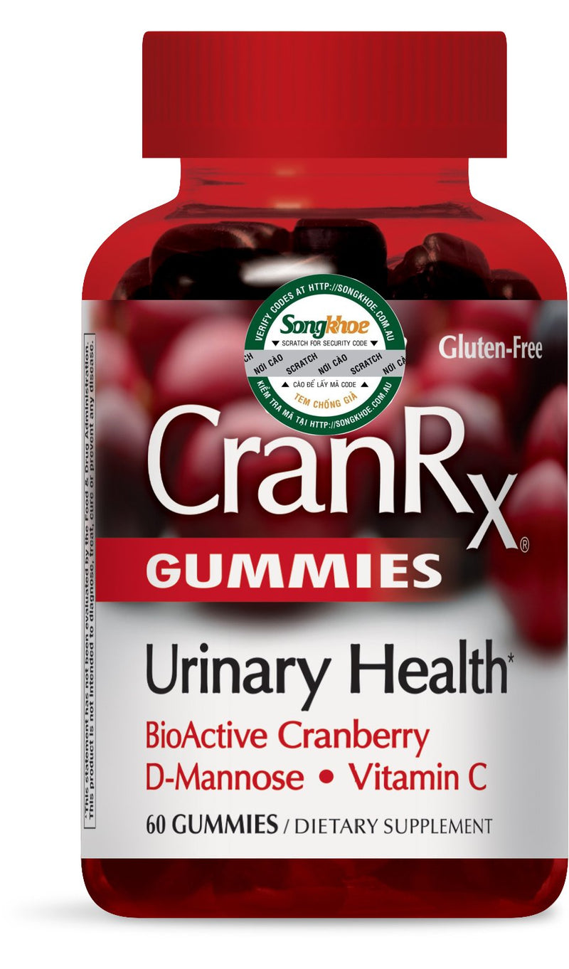 Nature's Way CranRx Gummies 60 ct