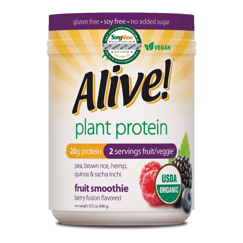 Alive Plant Protein Berry 440g