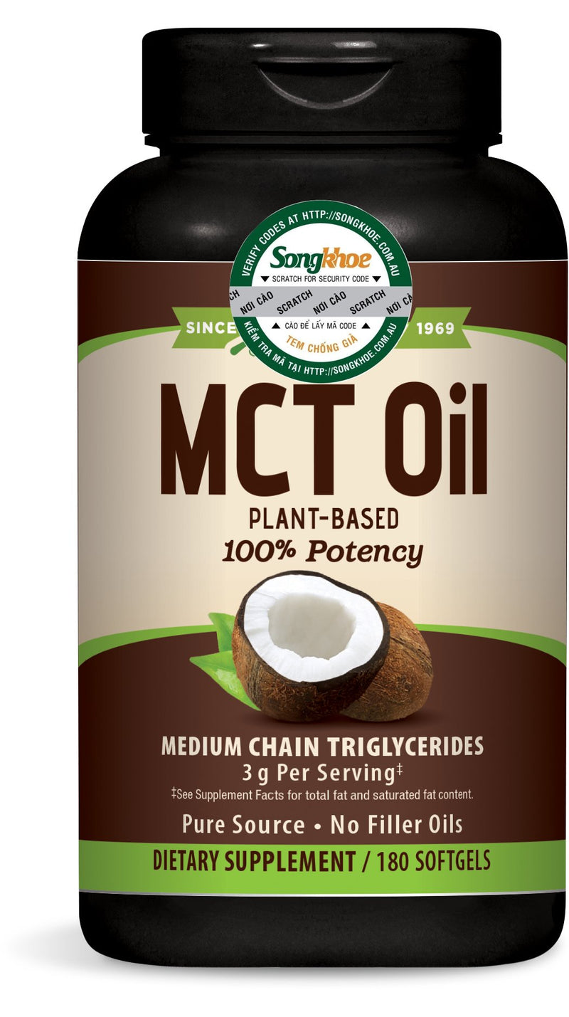 Nature's Way MCT Oil 180 softgels