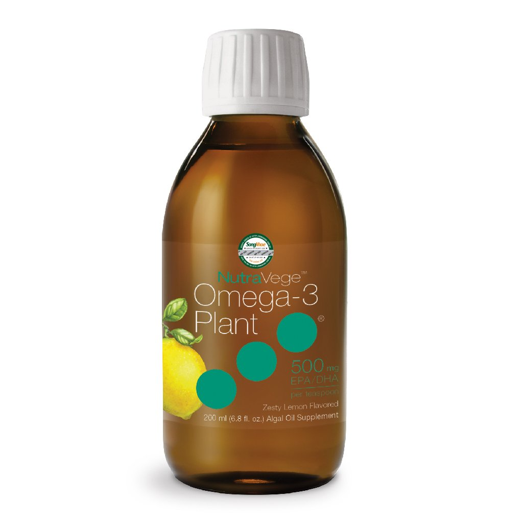 NutraVege Omega-3 Plant 500 mg (Zesty Lemon) 200 ml