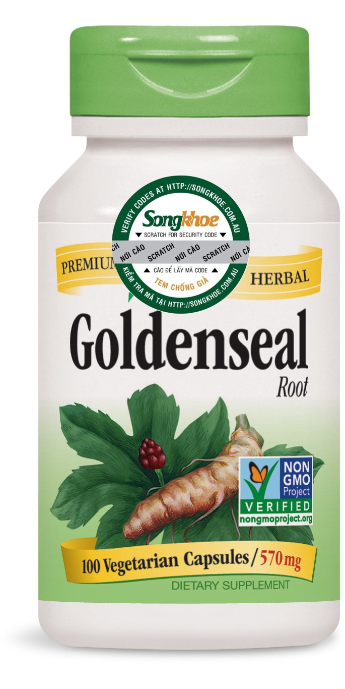 Nature's Way Goldenseal Root 100 vcaps