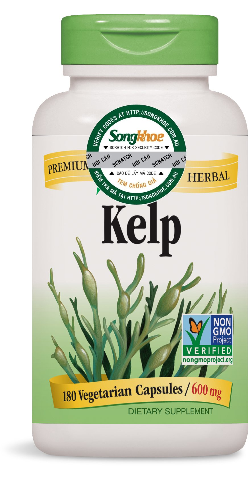 Nature's Way Kelp 180 vcaps