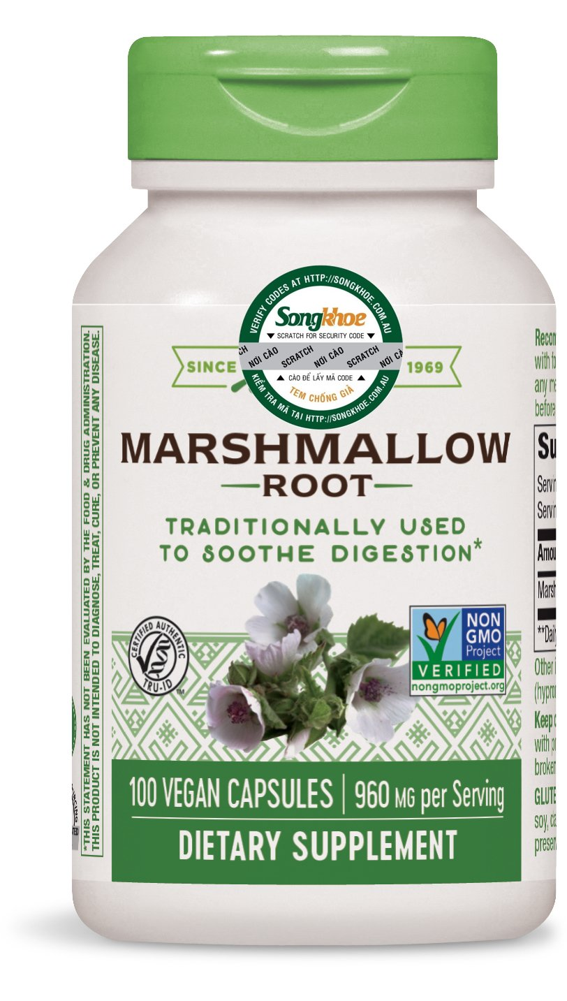 Nature's Way Marshmallow Root 100 vcaps