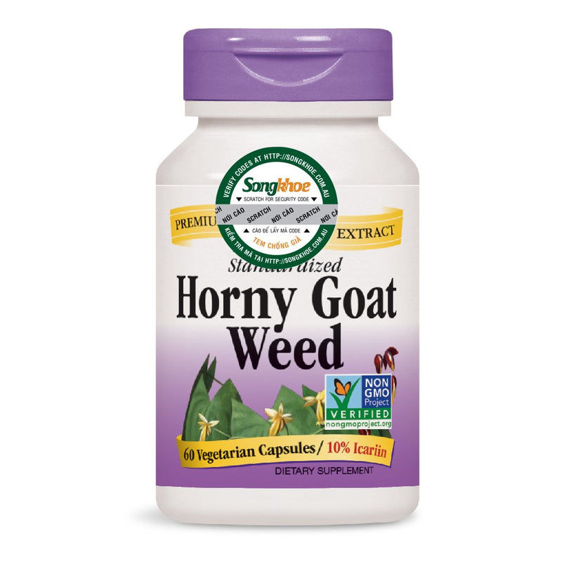 Nature's Way Horny Goat Weed 60 Caps