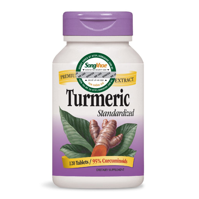 Nature's Way Turmeric Standarized 120 Tabs