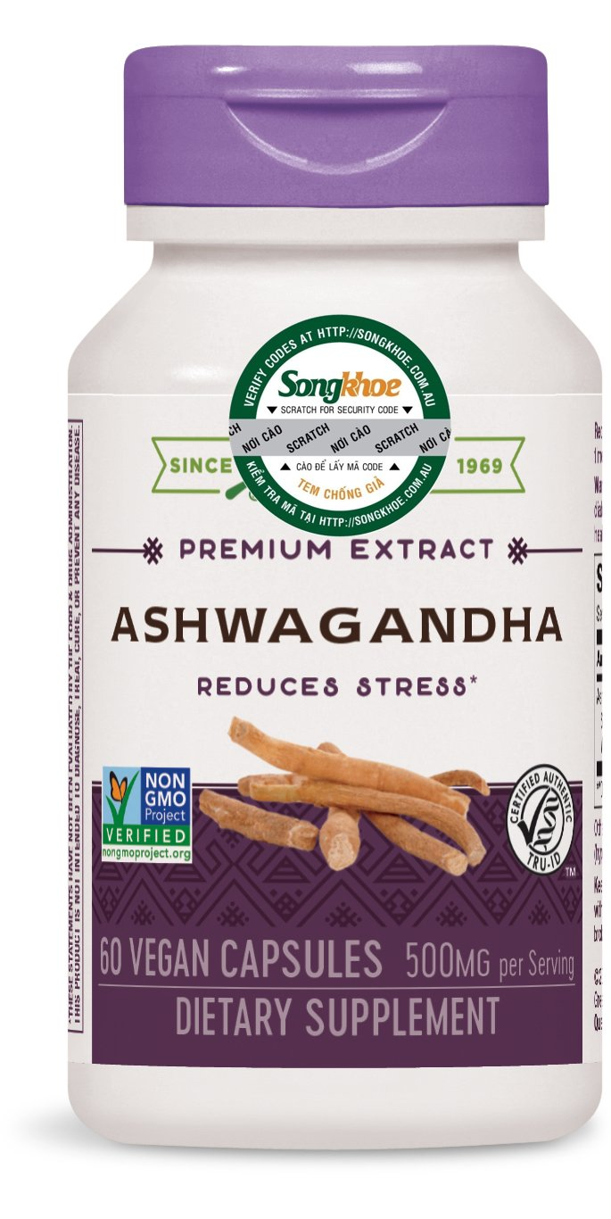 Nature's Way Ashwagandha 60 vcaps