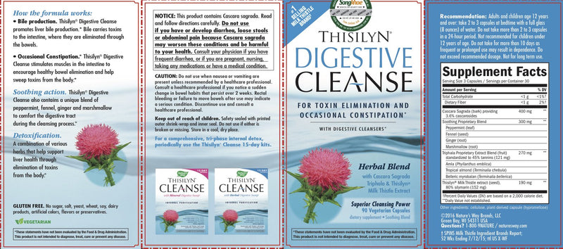 Nature's Way Thisilyn Digestive Cleanse 90 Vcaps