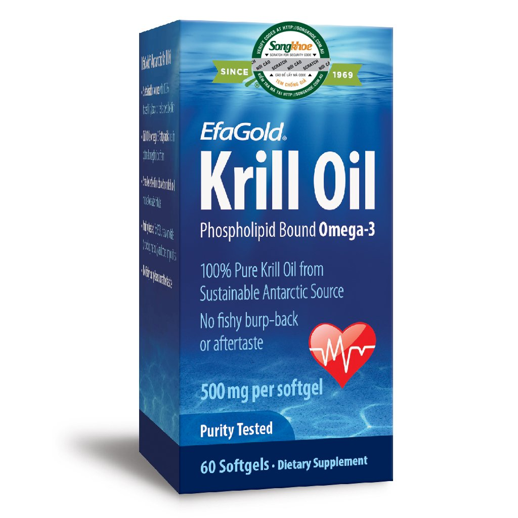 Nature's Way Krill Oil 500mg 60 Softgels