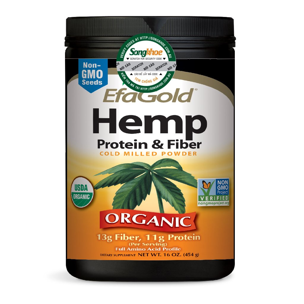 Nature's Way EFAGold Hemp Protein & Fiber Powder 16 0z