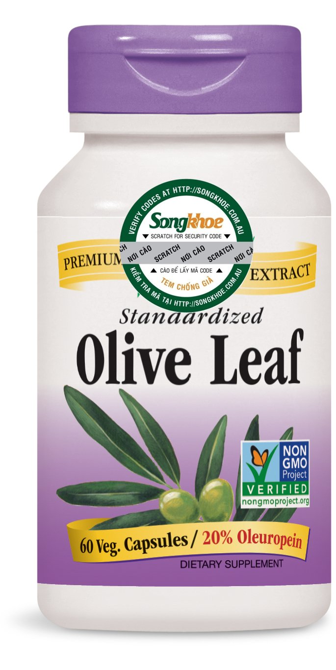 Nature's Way Olive Leaf 20% 60 vcaps