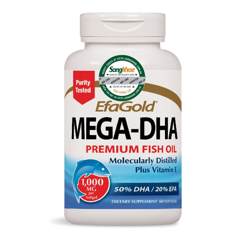 Nature's Way Mega-DHA 60 Softgels