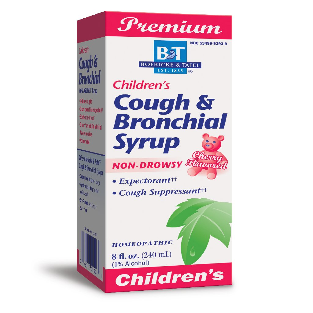 B&T Children's Cough & Bronchial Syrup 8 oz