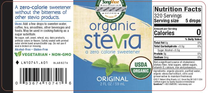 Nature's Way Organic Stevia Original 2 oz