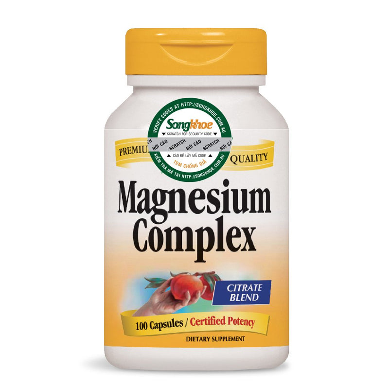 Nature's Way Magnesium Complex 100 Caps