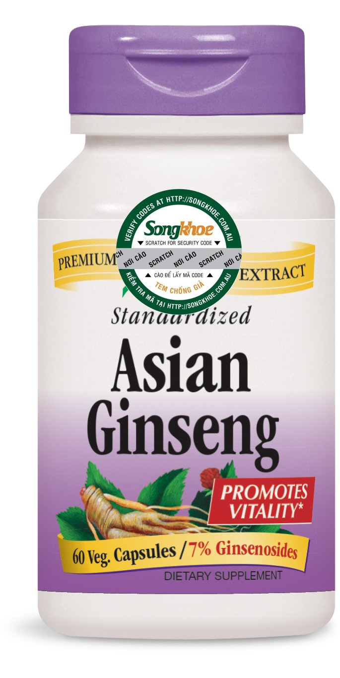 Nature's Way Asian Ginseng 60 vcaps