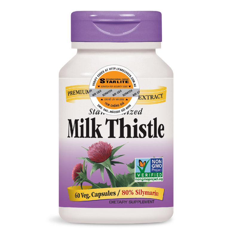 Nature's Way Milk Thistle SE 60 caps