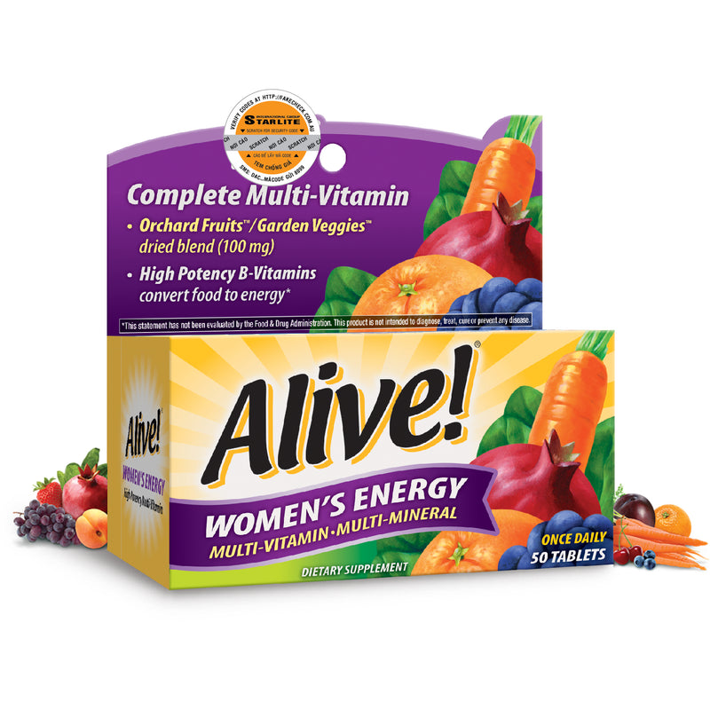 Alive Women's Energy 50 tabs