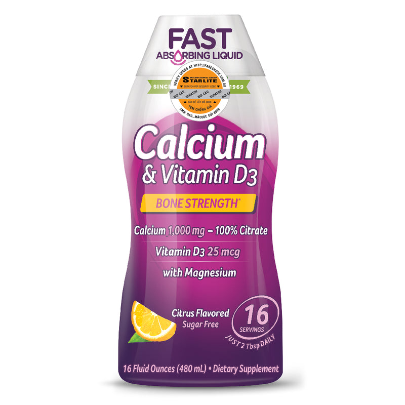 Calcium & Vitamin D Liquid 480ml