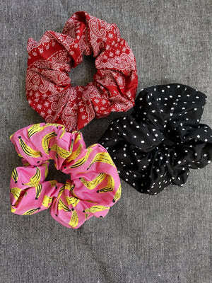 Trio Scrunchie Set