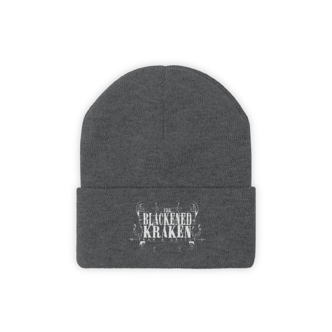 Knit Beanie - Graphite Heather