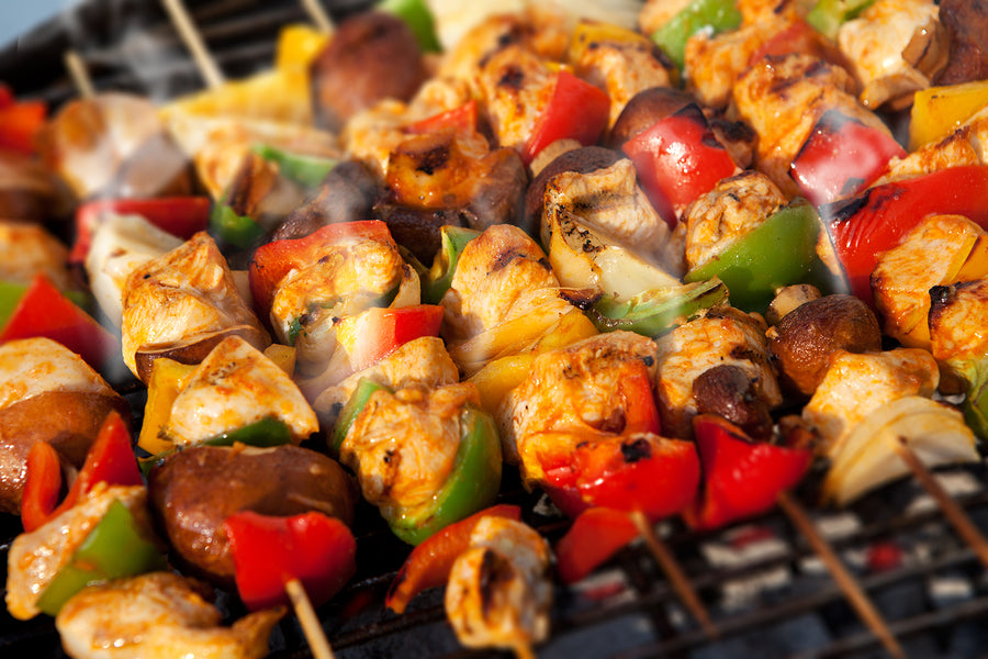 Italian Chicken Kebabs
