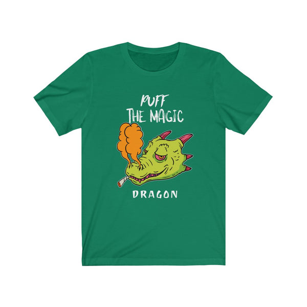 Puff The Magic Dragon- Unisex Jersey Short Sleeve Tee