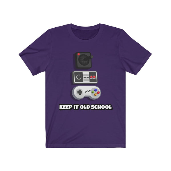 Keep It Old School- Unisex Jersey Short Sleeve Tee