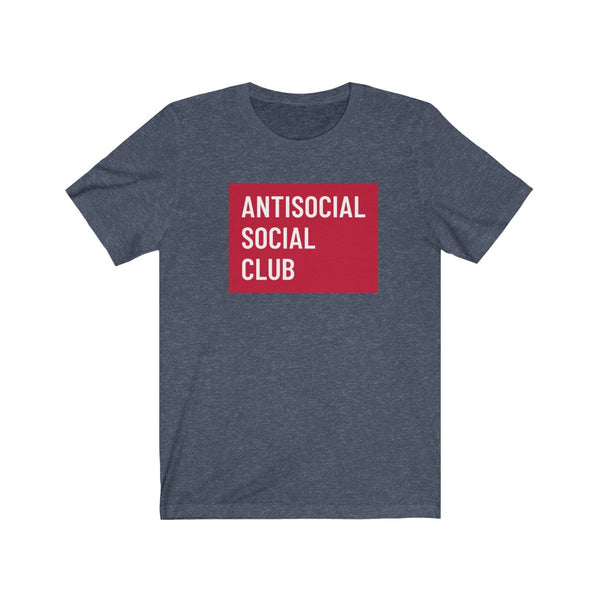 Antisocial Social Club- Unisex Jersey Short Sleeve Tee