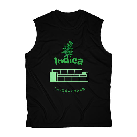 Indica, in-DA-couch- Men's Sleeveless Performance Tee
