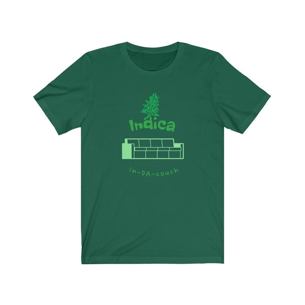 Indica, In-DA-Couch - Unisex Jersey Short Sleeve Tee