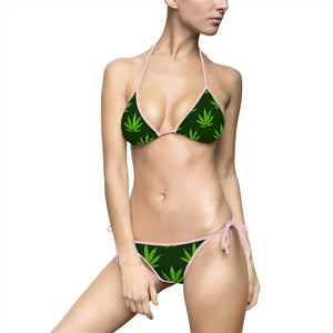 Pot Leaf- Women's Bikini Swimsuit