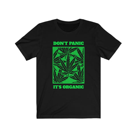 Don't Panic It's Organic Ver.1.0- Unisex Jersey Short Sleeve Tee