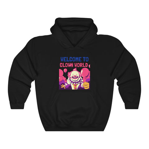 Welcome To Clown World- Unisex Heavy Blend™ Hooded Sweatshirt