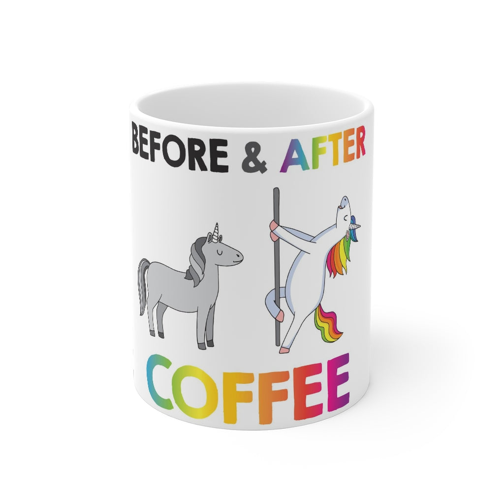 Before & After Coffee Mug