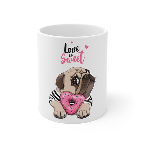 Love Is Sweet, Pug Mug
