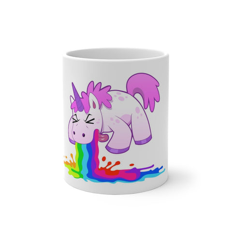 Unicorn Puke- Color Changing Mug