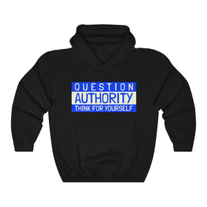 Question Authority- Unisex Heavy Blend™ Hooded Sweatshirt