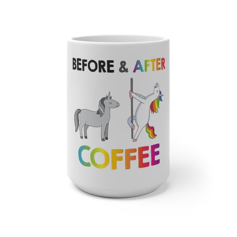 Before & After- Color Changing Mug
