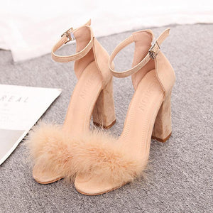 Sexy Lovely Shallow Mouth Wedding Party Sandals
