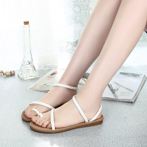 Slip On Flat Heel Daily Casual Sandals