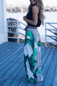 Summer Print Casual Print Pants