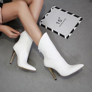 Joker High-Heeled Pointed Fashion Boots