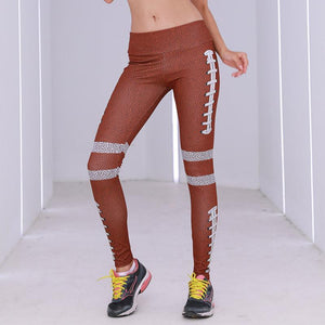 Digital Printing Tighten The Buttocks Nine Points Yoga Pants