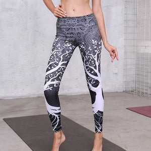 Digital Printing Leggings Women Sports Yoga Pants