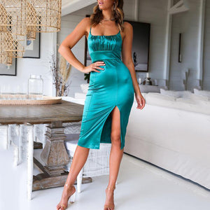 2019 Summer Sling Slim Fit Hip Sexy Dress