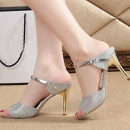 Stiletto  High Heeled  Peep Toe  Date Event Pumps